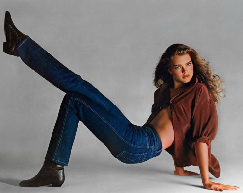 brooke shields richard avedon calvin klein campaign topmodel photographer fashion 80s 1980