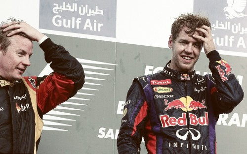 2/50 photos of Kimi Raikkonen and Sebastian Vettel (Simi)