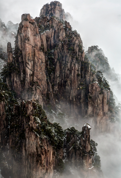 ecocides:  Huangshan Mountain, Anhui, China | image by Chaluntorn Preeyasombat