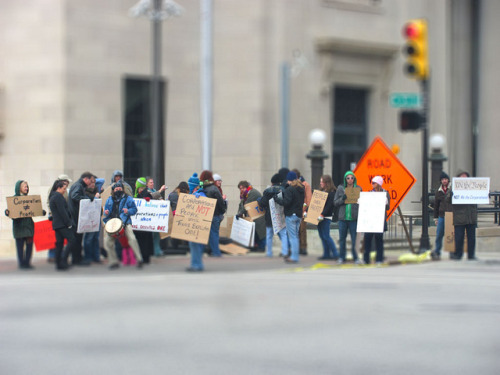 Occupy Tulsa Tilt Shift 1 on Flickr. Whatever happened to Occupy Tulsa?