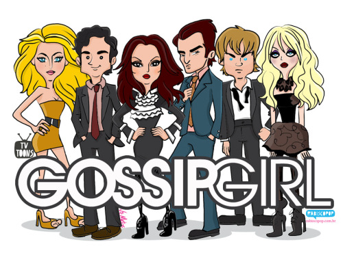 TV Toons Gossip Girl by Rabisco Pop