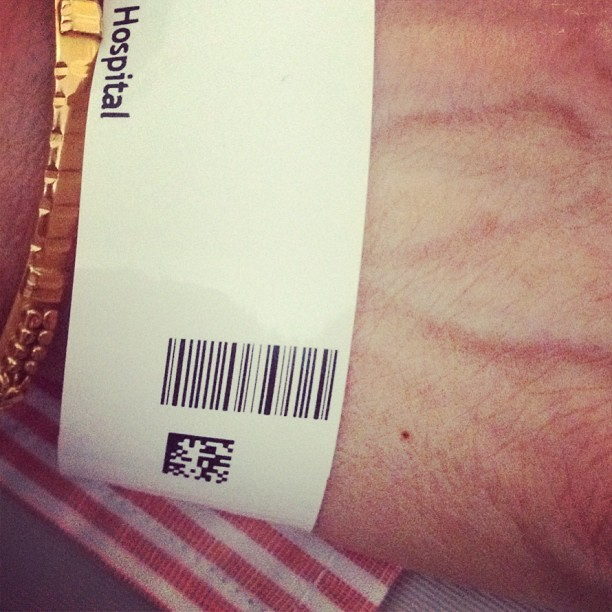 Danish hospitals have patient QR codes.