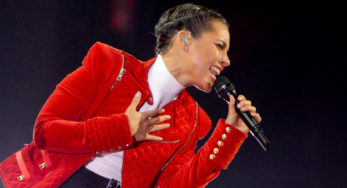 "Alicia Keys Launches HIV Campaign for U.S. Women ""We can't act like it's not happening. We have to make sure we know that we're all at risk. This is all of our issues, you know. This doesn't make you bad. … You shouldn't feel like you're ashamed. We have to make sure that we are demanding access to being tested. We have to demand access to treatment with dignity."""