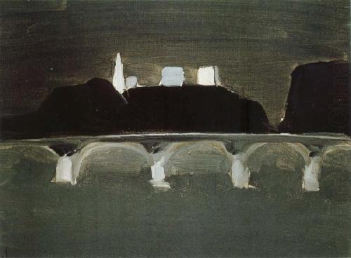 The Night of Paris, Nicolas de Stael, 1954