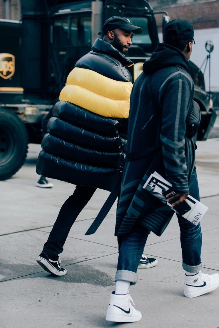 best-streetstyle:New York Fashion Week | GQ