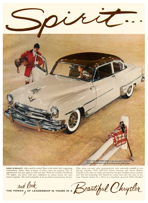 1954 Chrysler New Yorker DeLuxe Club Coupe Copyright © Paul Malon on Flickr.  All rights reserved.