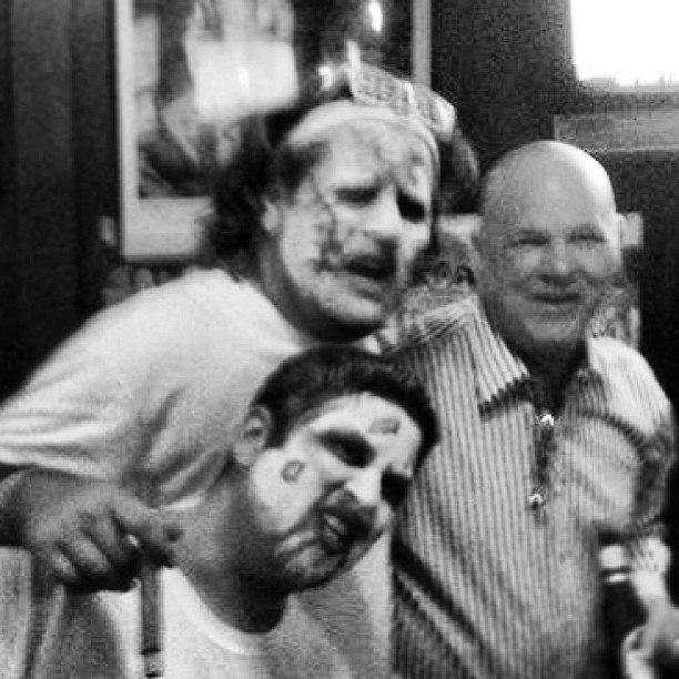 #WhiteHotheatFans and #zombies everywhere are disappointed with Joey Crawford's refereeing tonight (at Zombieland)