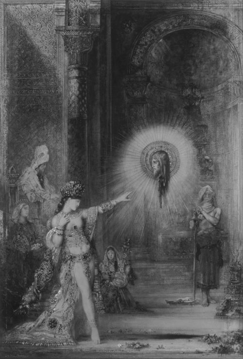 blood-fields:  The Apparition - Gustave Moreau. (1876)