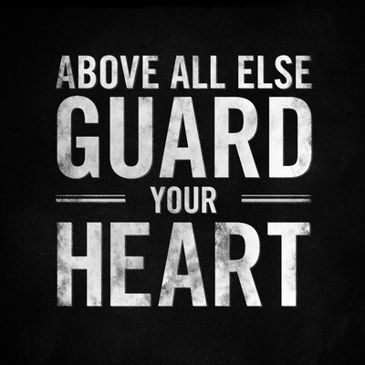 "spiritualinspiration:  ""Above all else guard your heart for it affects everything you do"" (Proverbs 4:23). These days, we hear a lot about detoxing our physical bodies. Bacteria can build up. Pesticides and chemicals can get into our system. Experts recommend that you go through a deep cleansing periodically and stay away from what is harmful so you can rid yourself of these toxins. In the same way, there are all kinds of toxins that can build up in our minds. When we go around dwelling on the wrong thoughts, thinking about what we can't do, how somebody hurt us, or how we'll never get ahead; those thoughts are toxic. And toxic thoughts left alone become like toxic waste. It gets into your heart, and eventually, contaminates your whole life. It affects your self-image, your attitude, and your level of confidence. That's why the Bible tells us that we have to guard our hearts and minds above all else because if your mind gets polluted, your whole life is going to be polluted. Make the decision today to go on a fast from negative, self-defeating thoughts. Cleanse your mind from what is harmful and fill yourself with thoughts of faith and victory. As you do, those good thoughts will strengthen and empower you to live the good life He has planned for you!"