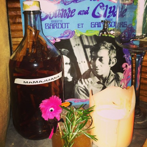 #mamajuana #bridgetbardot #sergegainsbourg and some free drink made just for #me (at The Broken Shaker)