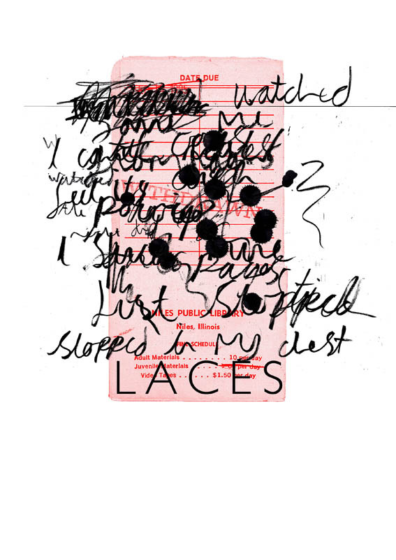 A screenprint design I did for Laces. This was sold at gigs, with each one having written on it a link to download their new ep 'Beachcombers.' Have a listen and download yourself from here.