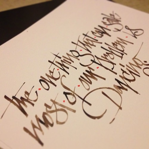 James Brown. #calligraphy #jamesbrown #quotes #classicocoolestclub