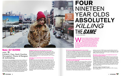 Check out my feature in WeTheUrban's new issue HERE! I'm on page 8 :)