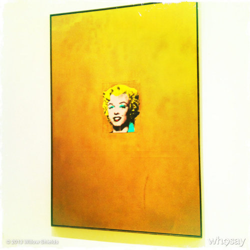 Amazing piece of art by Andy Warhol. #at #MOMA View more Willow Shields on WhoSay