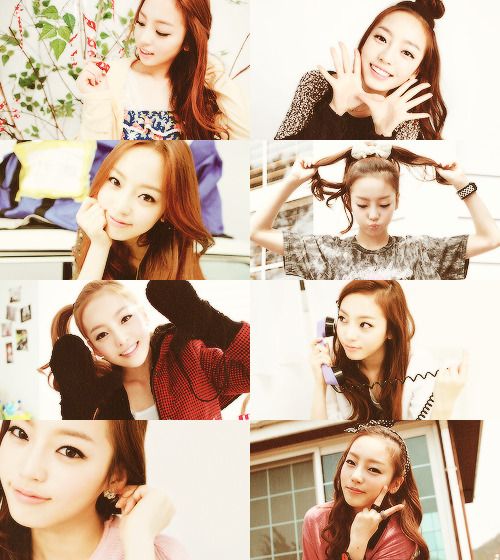 Hara picspam // requested by hyukboa