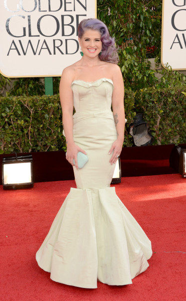 Kelly Osbourne at the 2013 Golden Globe Awards…