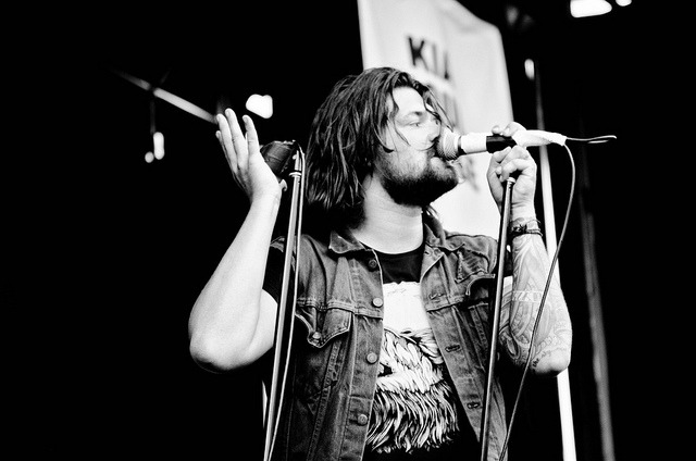 weswingandwesway:  Adam Lazzara/Taking Back Sunday by eastscene on Flickr.