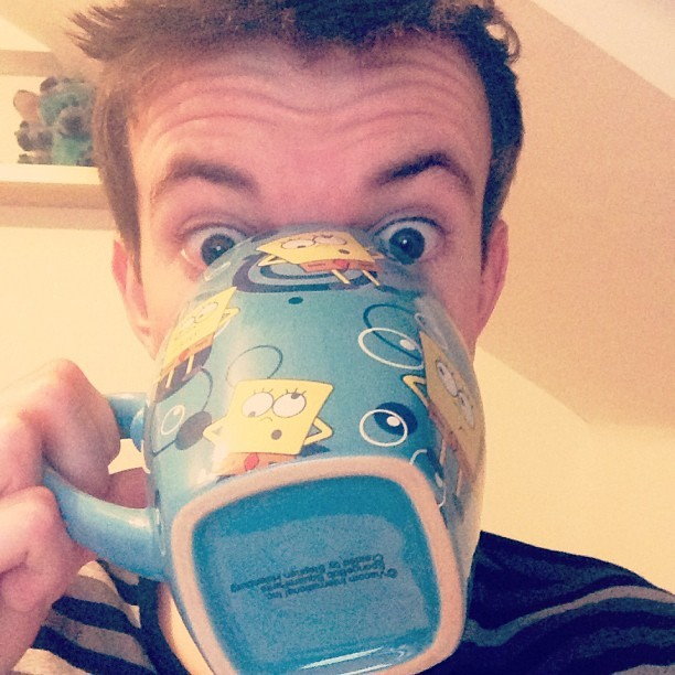 Quite a big mug. #spongebob