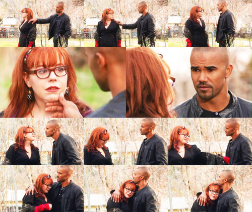 "as-iam:  ""- I kinga love you, Derek Morgan.- I kinda love you, Penelope Garcia."""