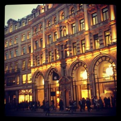 Apple Store at Regent St. #london #lights #building #street #road #shop #store #people #shopping #city #town #centre #apple
