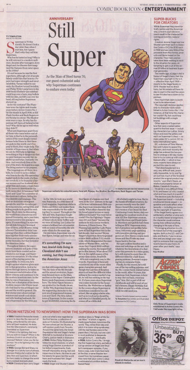 stevezodiac2001:  Ty Templeton's Why The Man of Steel is Still Super