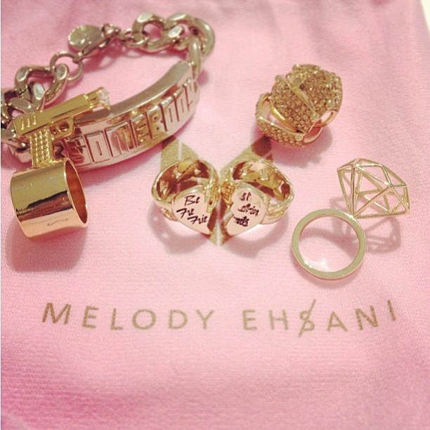 What's your emblem? #melodyehsani #gold #love www.melodyehsani.com (at Melody Eh$ani Store)
