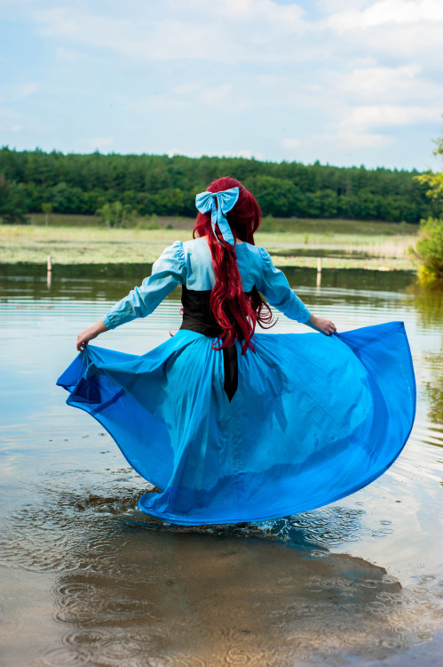cupcakekaracosplay:  finally some ariel pictures :D woop. picked my fav 4 ~pictures by anothermindpalacebe sure to check out her page! cause she is awesome~(and remind me never to do a shoot after a whole week of morning shift at work. I was so freaking tired and braindead by that point of the day) But it was a very fun afternoon with friends!don't remove the text or repost please~