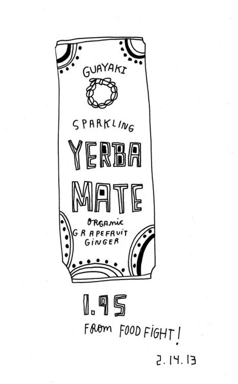 Daily Purchase Drawing for 02.14.13  Yerba Mate. It's the Whole Foods Red Bull.
