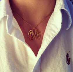 0nly-d0pe:  Love my necklace!