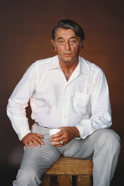Robert Mitchum  Photo by Nancy Ellison