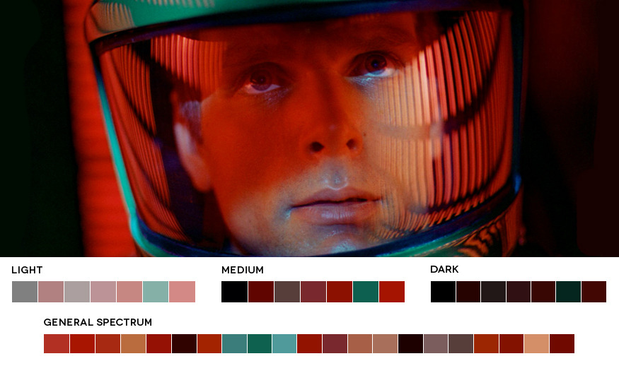 moviesincolor:  Stanley Kubrick Week2001: A Space Odyssey, 1968Cinematography: Geoffrey Unsworth