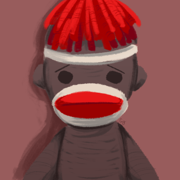 Lenny my sock monkey