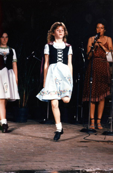 Irish step dance at the Florida Folk Festival: White Springs, Florida by State Library and Archives of Florida on Flickr.