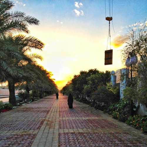 turaif:  King Abdullah Walking Park
