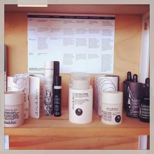 Excited about new daily regimen at #poketo shop! Love #absolution #french #apotecary #natural (at Poketo)