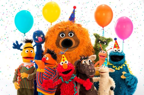 Happy 40th Birthday to Sesamstrasse, the German co-production of Sesame Street!