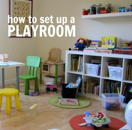 The following link has some great tips & advice on how to set up a playroom. This could be useful for anyone with a playroom!   Source: http://www.notimeforflashcards.com/2011/09/play-and-learn-room.html