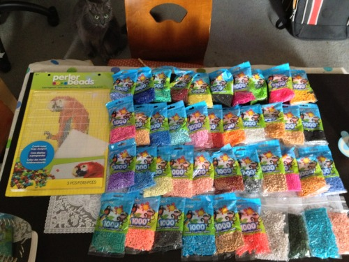 ellensama:  My Perler bead haul.  DO WANT