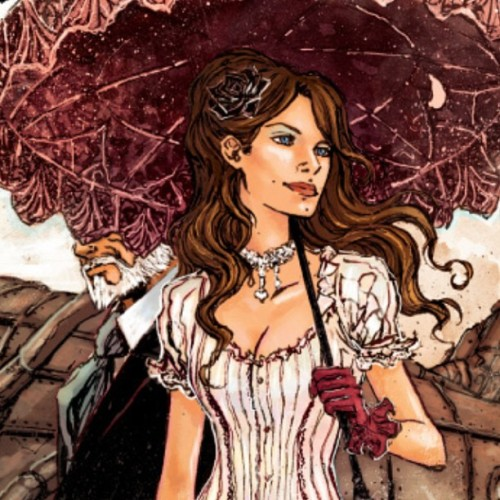 Showcasing the steampunk element of Black Rose today. Issue 2 begins now!