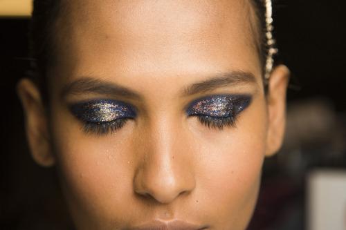 the gorgeous eye makeup at thakoon photo mark