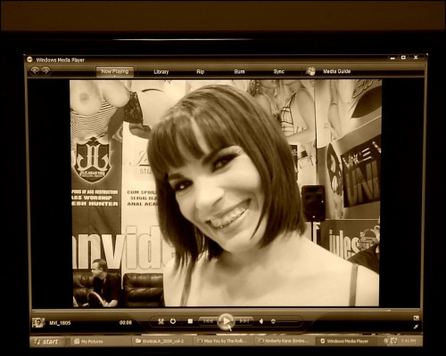 zigleftzagright:  Dana DeArmond, live on tape!