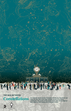 nevver:  Grand Central Constellations, Arts for Transit