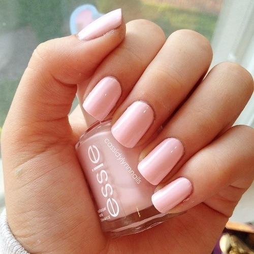 essie:  Pretty in pale pink.