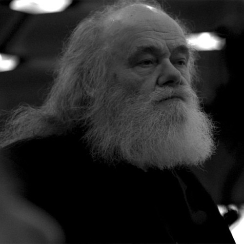 A still from my shoot in Ottawa with Garth Hudson (The Band)