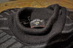 "Something special, coming in FW13... Saint James For Lee 101 Lee, Established 1889 Saint James, Established 1889  ""Like H.D. Lee Mercantile Co. the proud french knitwear located in lower Normandy near the famous Mont St. Michel, Saint James was also founded in 1889. Saint James is well known for their knitted pure new wool Breton seaman's sweater, originally intended for deep sea fishermen and sailors.""Denimhunters"