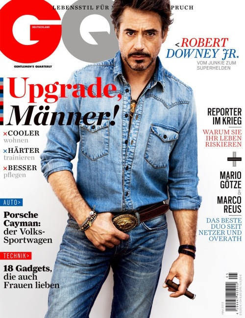 Robert Downey Jr. by Inez & Vinoodh for GQ Germany, May 2013
