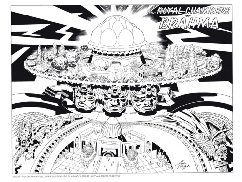 Possibly the coolest thing I've ever come across. The Amazing Jack Kirby sketches for the real Argo film project.  Check them all out at BuzzFeed.