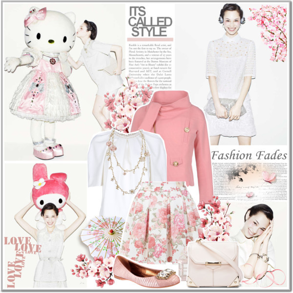 HELLO; HELLO KITTY :) by annakitty featuring alexander wang ❤ liked on Polyvore