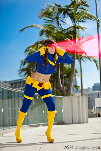 Female Cyclops — SDCC 2012 | cosplay by Nadya Sonika; photography by andreas_schneider  {via chiveta}