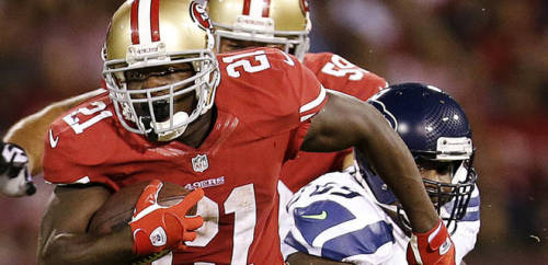 Frank Gore in search of Super Bowl ring [San Jose Mercury News]